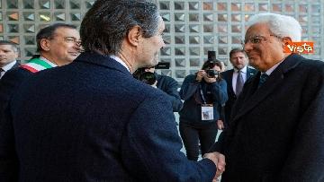 4 - Mattarella partecipa all'inaugurazione dell'anno accademico della IULM a Milano