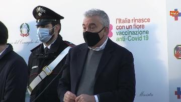 3 - Vax day, la giornata delle prime vaccinazioni allo Spallanzani