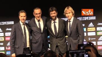 3 - La conferenza di Sarri alla Juventus