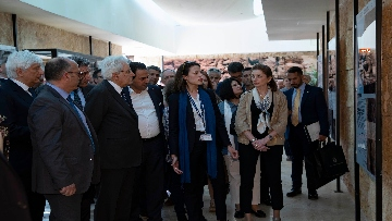 3 - Il Presidente Mattarella visita il Sito Archeologico di Petra