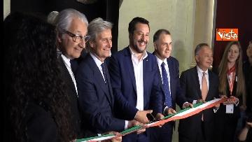3 - Il presidente Conte e il ministro Salvini aprono la 58esima edizione del Salone del Mobile