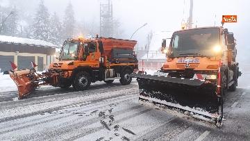 7 - Maltempo ed emergenza neve Anas in azione per garantire la viabilita