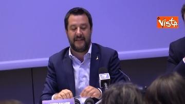 1 - Salvini comincia la campagna elettorale insieme agli alleati sovranisti