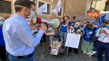 """6 - """"Gli animali non sono vite di serie B"""": la protesta delle associazioni animaliste in Campidoglio"""