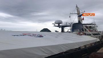 6 - La nave Mare Jonio salpa dal porto di Palermo, Mediterranea alla sua seconda missione in mare