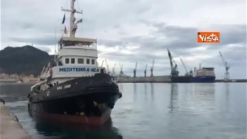 2 - La nave Mare Jonio salpa dal porto di Palermo, Mediterranea alla sua seconda missione in mare
