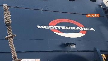 5 - La nave Mare Jonio salpa dal porto di Palermo, Mediterranea alla sua seconda missione in mare