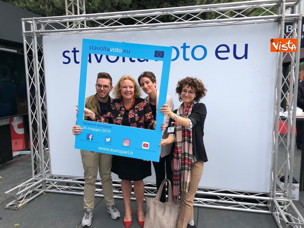 27-10-18 StavoltaVoto la campagna per sensibilizzare alvoto per le elezioni europee la presentazione immagini_13