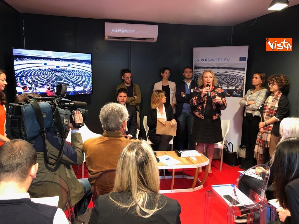 27-10-18 StavoltaVoto la campagna per sensibilizzare alvoto per le elezioni europee la presentazione immagini_09