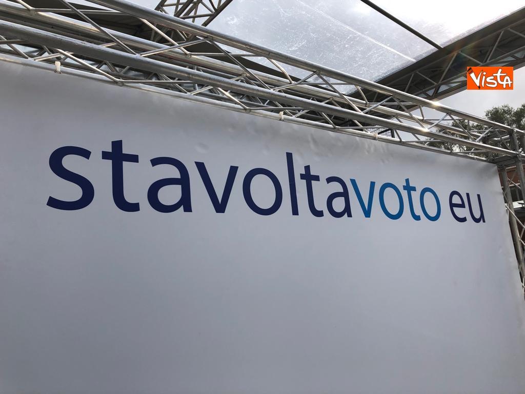 27-10-18 StavoltaVoto la campagna per sensibilizzare alvoto per le elezioni europee la presentazione immagini_07