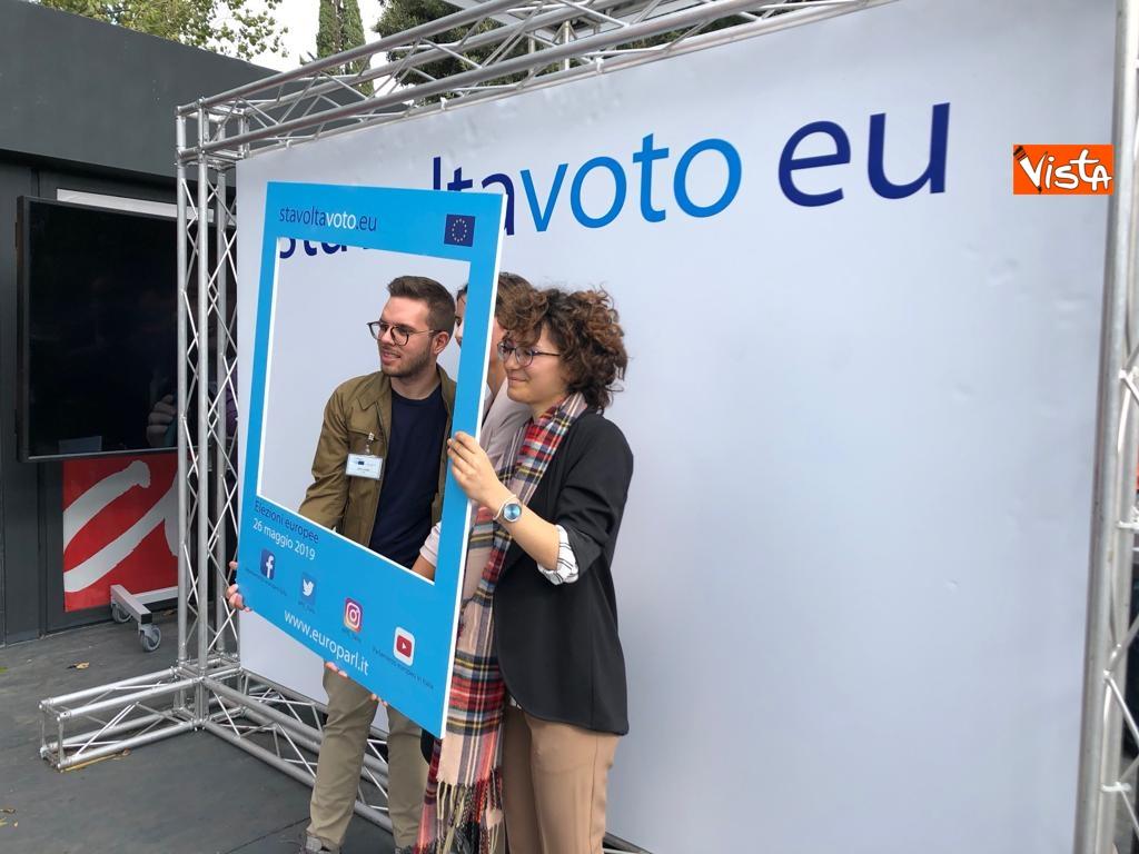 27-10-18 StavoltaVoto la campagna per sensibilizzare alvoto per le elezioni europee la presentazione immagini_12