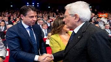 8 - Mattarella, Conte, Casellati e Fico ad Assemblea Confindustria