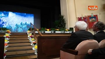 2 - Mattarella alla cerimonia commemorativa dell'alluvione dell'ottobre 2018 nella Regione Veneto