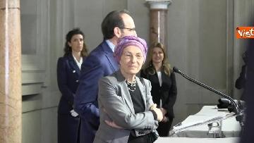 11 - Consultazioni, Gruppo Misto Senato con Bonino e Nencini a margine del colloquio con Mattarella