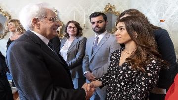 4 - Mattarella incontra l'On. Dott.ssa Lella Golfo, Presidente della Fondazione Marisa Bellisario