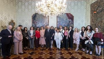 5 - Mattarella incontra l'On. Dott.ssa Lella Golfo, Presidente della Fondazione Marisa Bellisario