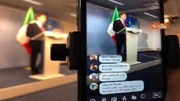5 - Conte in conferenza stampa a margine del Consiglio Europeo