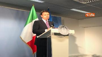 8 - Conte in conferenza stampa a margine del Consiglio Europeo
