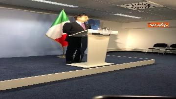 7 - Conte in conferenza stampa a margine del Consiglio Europeo