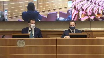 5 - Coronavirus, la conferenza stampa della Lega al Senato con Salvini e Siri