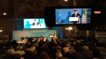 10 - Conte e Salvini ad assemblea Rete Imprese Italia immagini