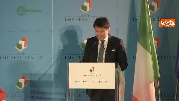 5 - Conte e Salvini ad assemblea Rete Imprese Italia immagini