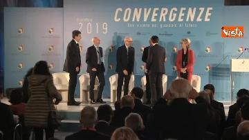 2 - Conte e Salvini ad assemblea Rete Imprese Italia immagini