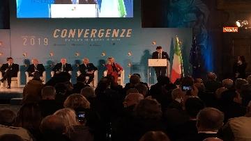 7 - Conte e Salvini ad assemblea Rete Imprese Italia immagini