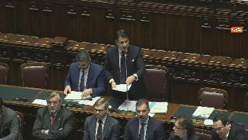 13 - Conte riferisce in Aula Camera su Consiglio Ue e Via della seta, immagini
