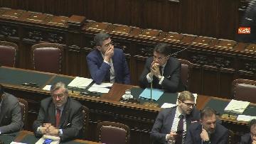 4 - Conte riferisce in Aula Camera su Consiglio Ue e Via della seta, immagini