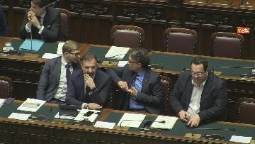 6 - Conte riferisce in Aula Camera su Consiglio Ue e Via della seta, immagini