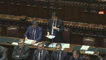 9 - Conte riferisce in Aula Camera su Consiglio Ue e Via della seta, immagini