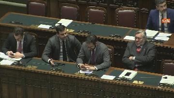 7 - Conte riferisce in Aula Camera su Consiglio Ue e Via della seta, immagini