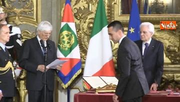 6 - Il giuramento di Di Maio, Ministro dello Sviluppo Economico e del Lavoro