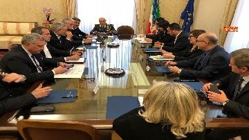 6 - Salvini al Comitato per l'ordine e la sicurezza su sgombero campo rom a Giugliano