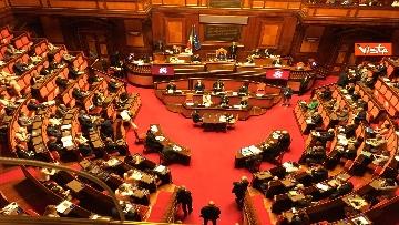 5 - Covid, Conte riferisce in Aula Senato su proroga stato emergenza, immagini
