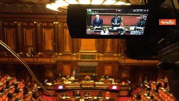 4 - Covid, Conte riferisce in Aula Senato su proroga stato emergenza, immagini