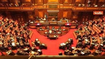 2 - Covid, Conte riferisce in Aula Senato su proroga stato emergenza, immagini