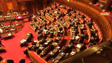 3 - Covid, Conte riferisce in Aula Senato su proroga stato emergenza, immagini