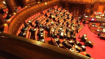 6 - Covid, Conte riferisce in Aula Senato su proroga stato emergenza, immagini