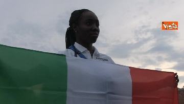 16 - Daisy Osakue alla presentazione della nazionale di atletica, le immagini