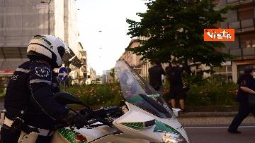 7 - Manifestazione Loreto, Rete anarchica milanese in corteo lungo via Padova