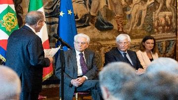 1 - Mattarella incontra una Delegazione della Lega Italiana per la lotta contro i tumori