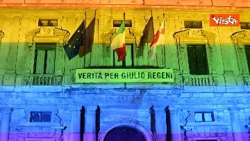 6 - Milano Pride 2020, Palazzo Marino si illumina con i colori dell'arcobaleno