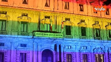 5 - Milano Pride 2020, Palazzo Marino si illumina con i colori dell'arcobaleno