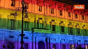 2 - Milano Pride 2020, Palazzo Marino si illumina con i colori dell'arcobaleno