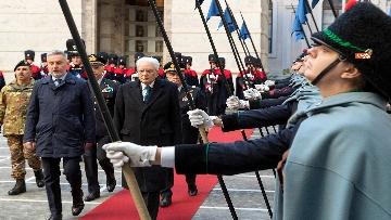 2 - Mattarella visita il contingente impegnato nell'Operazione Strade Sicure