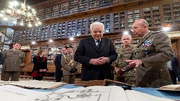 12 - Mattarella visita il contingente impegnato nell'Operazione Strade Sicure