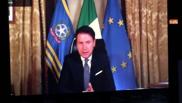 7 - Ania, l'assemblea annuale 2020 con Conte e Patuanelli in video collegamento, immagini