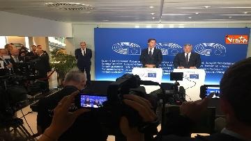 9 - Tajani incontra Rutte a Strasburgo